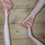 Hands Stock - Falling