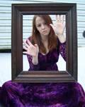 Purple Lace Dress Stock 4