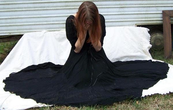 Black Dress Stock 29 by Gracies-Stock