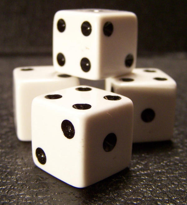 Dice -Stacked- by Gracies-Stock