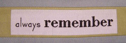 Words -Always Remember- by Gracies-Stock