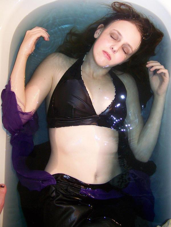 Mermaid In Water 08 by Gracies-Stock