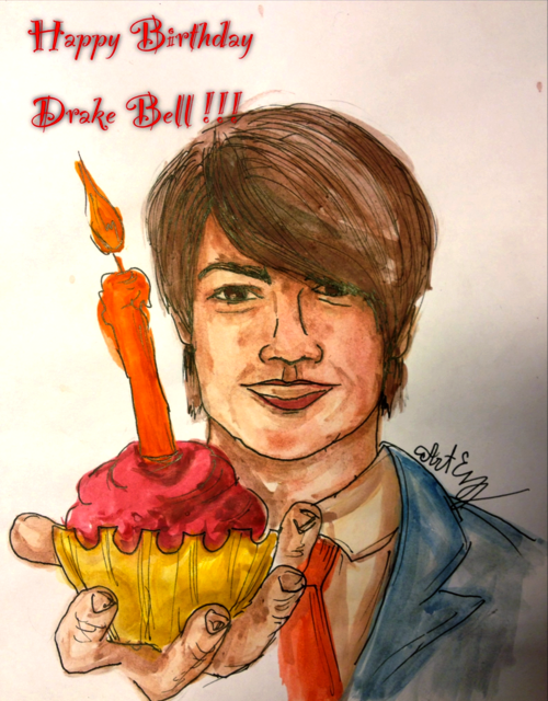 Happy birthday drake bell by arteleanor on deviantart happy birthday drake bell by arteleanor voltagebd Images