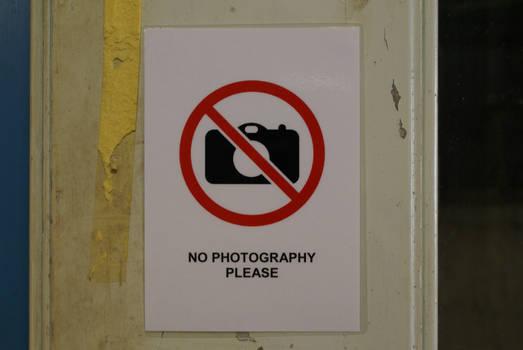 No Photography 1