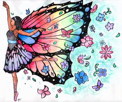 Dancing Butterfly by SeangelSaph