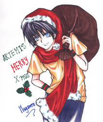 Artemis-Fowl X'mas Card by ARTEMIS-CLUB