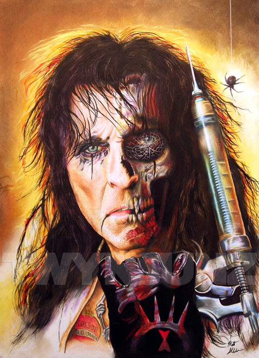 Alice Cooper by Twynsunz