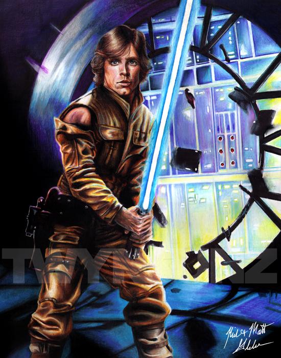 Luke Skywalker by Twynsunz