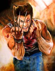 Wolverine by Twynsunz