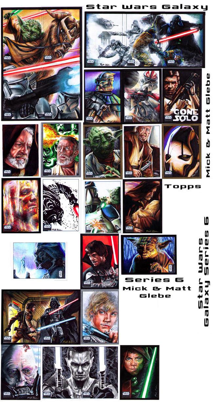 Star Wars Galaxy Series 6 by Twynsunz