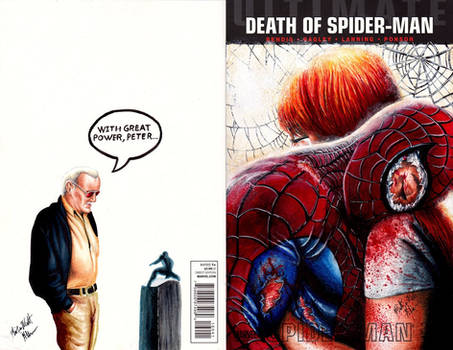 Death of Spider-man Cover by Glebe