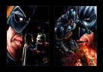 Batman Then and Now PSCs by Glebe