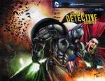 Batman vs Superman Sketch Cover