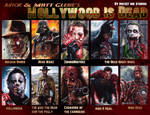 Hollywood Dead sketch cards by Glebe
