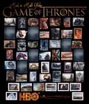Game Of Thrones Season 3 Sketch Cards