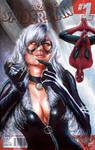 Blackcat Spidey Sketch Cover by Glebe