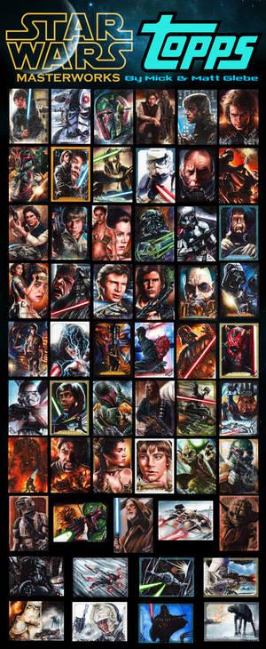 Glebe Star Wars Masterworks