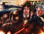 Star Wars Sketch Cover by Glebe