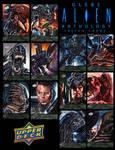 Glebe Alien Alien Anthology Sketch Cards