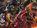 Marvel's Greatest Battles AP by Glebe