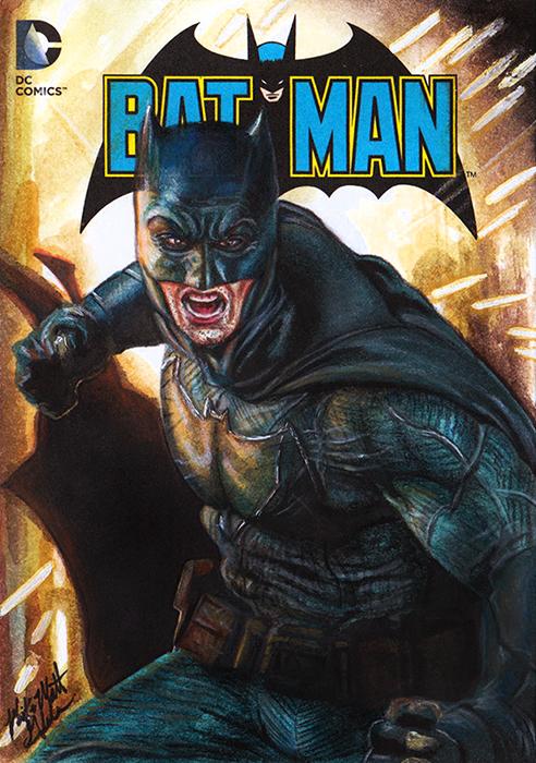 Batman Glebe Box Topper by Twynsunz