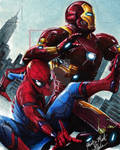 Spider-Man Homecoming by Glebe