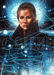 General Leia Star Wars Galaxy Base Art by Glebe by Twynsunz