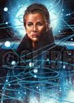 General Leia Star Wars Galaxy Base Art by Glebe