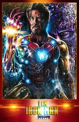 I Am Iron Man Poster Print by Glebe