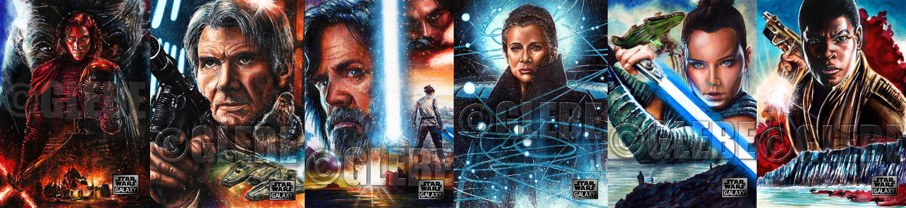 Star Wars Galaxy 2018: Legends by Glebe
