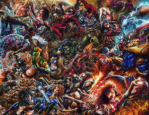 World War Marvel by Glebe