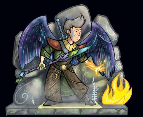 Druid Wildermyth Style