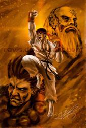 Street Fighter : Ryu by Ravis