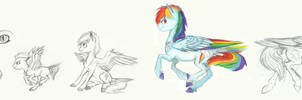 Rainbow Dash: Age thingy by Earthsong9405
