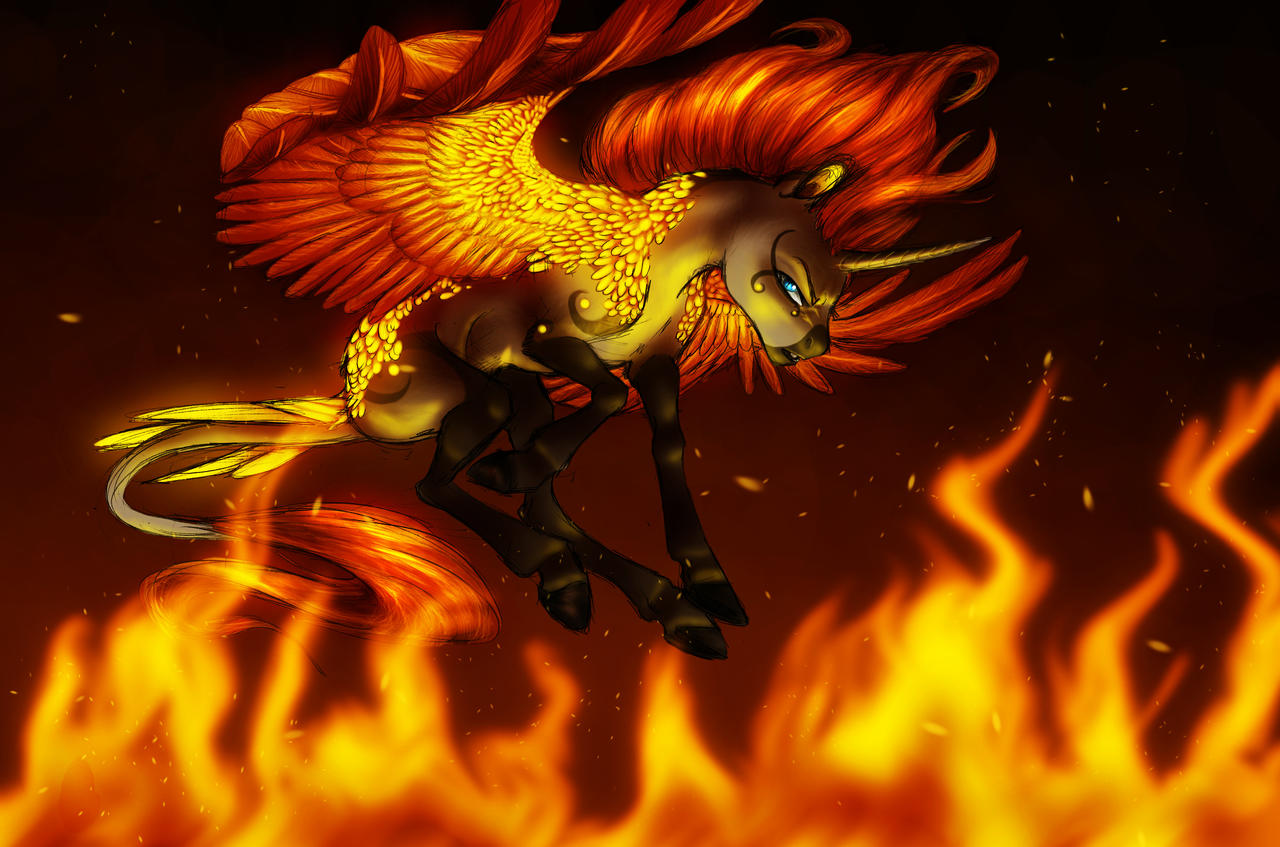 Collabission- On Burning Wings by Earthsong9405