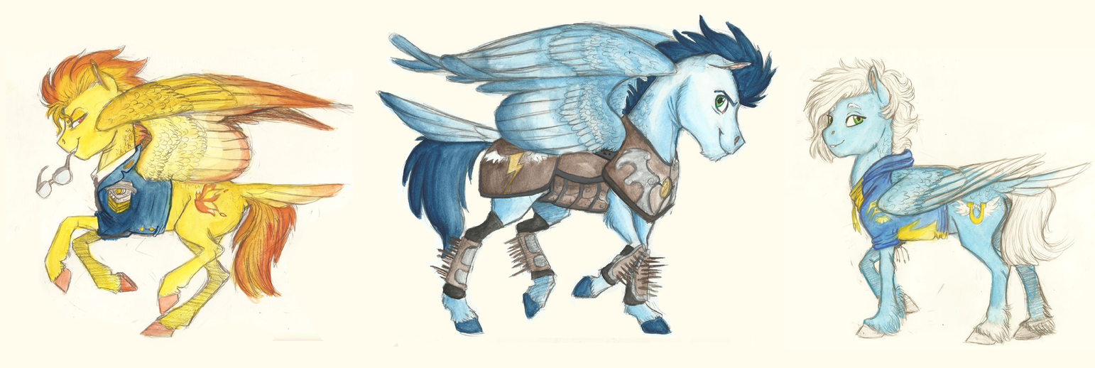Minidump- The Wonderbolts by Earthsong9405