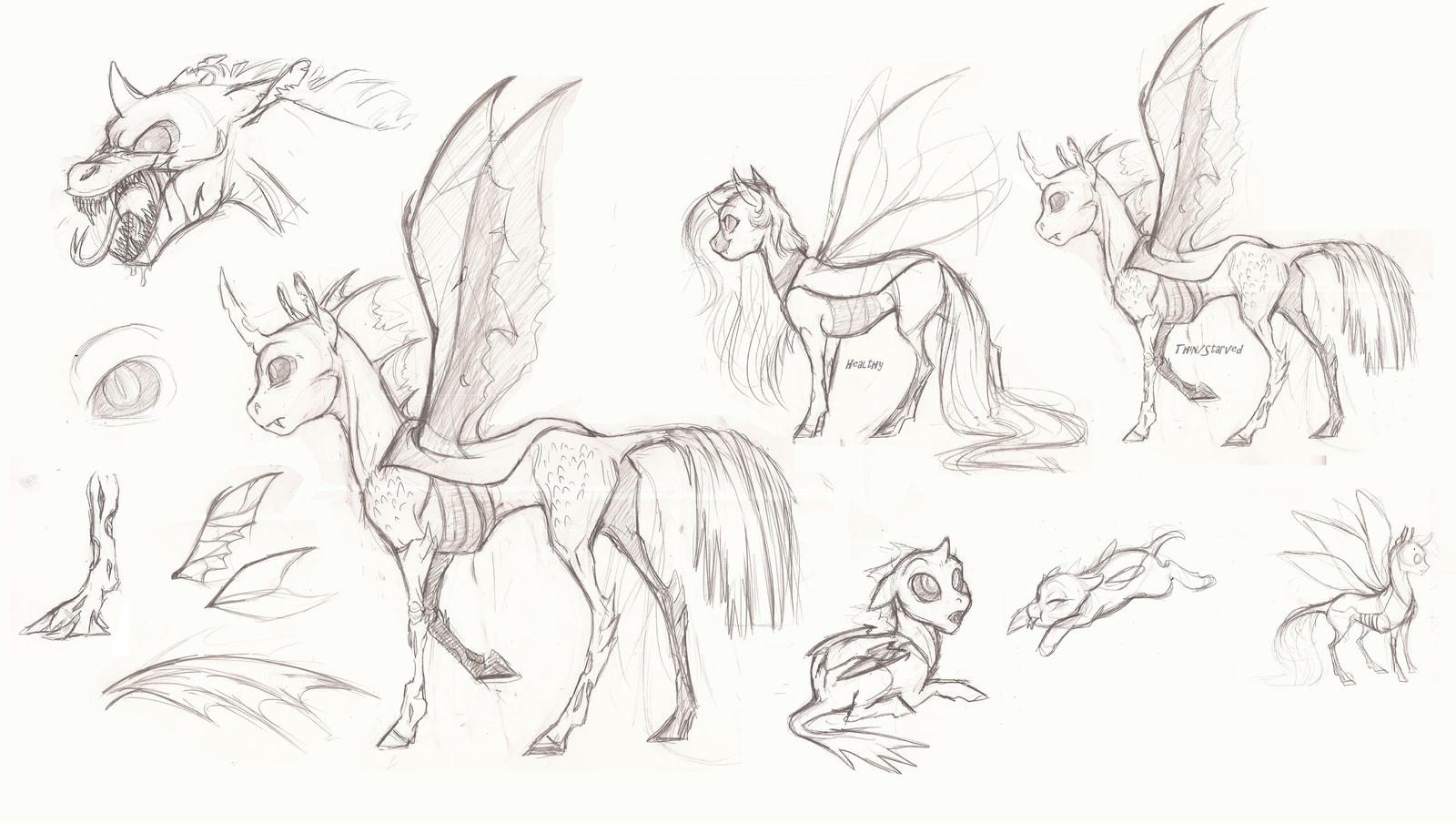 MLP The Changeling By Earthsong9405 On DeviantArt