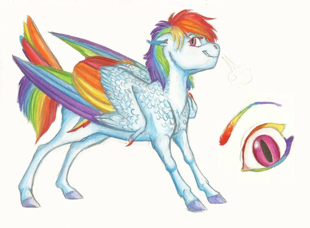 Headcanon: Rainbow Dash