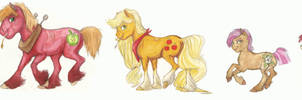 Deh Apple Family by Earthsong9405