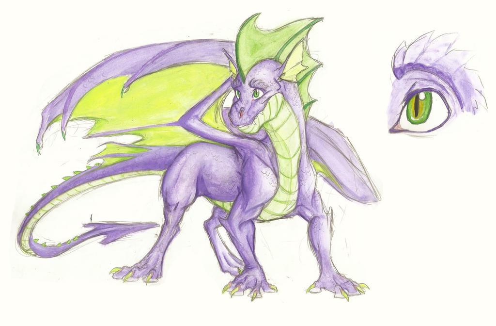 Headcanon: Spike by Earthsong9405