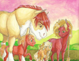 The Apples- I Felt Her Kick, Mama! by Earthsong9405