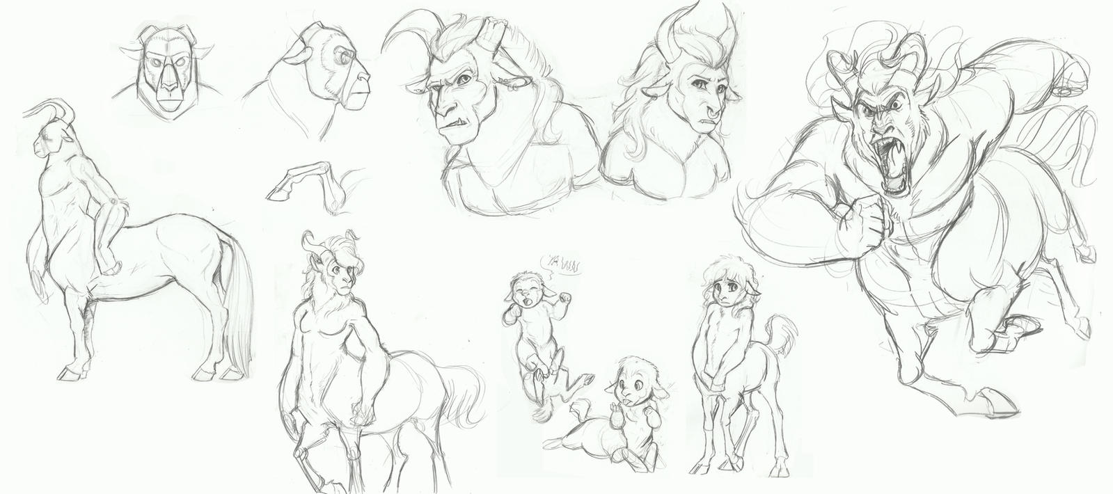 MLP- The Centaur by Earthsong9405