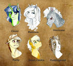 The Founders of Equestria