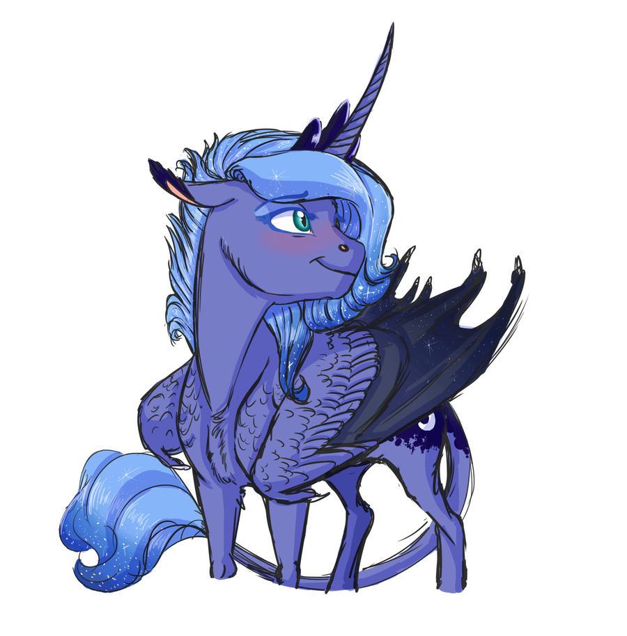 Doodle- Young Luna