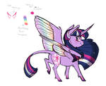 Headcanon- Rainbow Power Twilight Sparkle concept