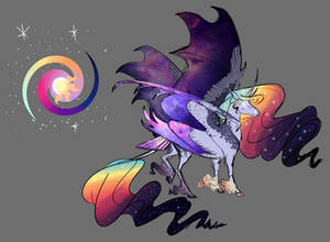 MLP Doodle- Celestia and Luna fusion