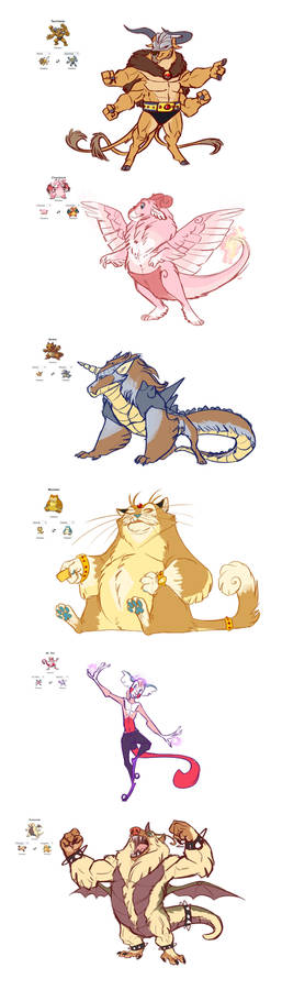 Pokemon Fusions Sketchdump