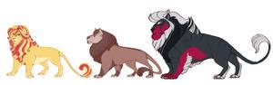 Fluffy!AU: The Lions