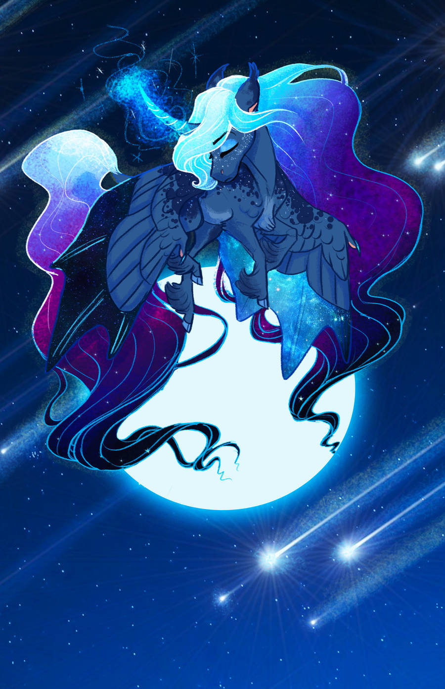 Lunar Showers by Earthsong9405