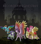 Fanfic Cover Commish: Records of Equestria